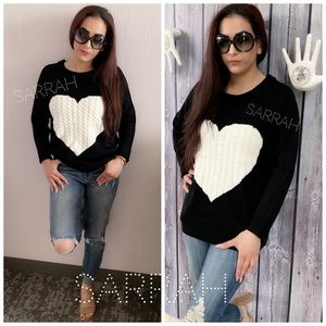 Last S or XL New Cozy LOVE Sweater